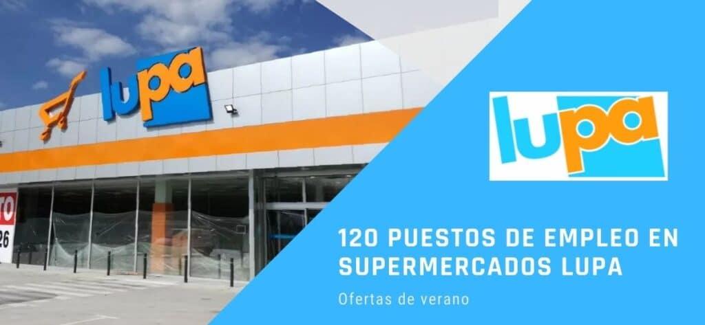 120 Puestos D Empleo En Supermercados Lupa