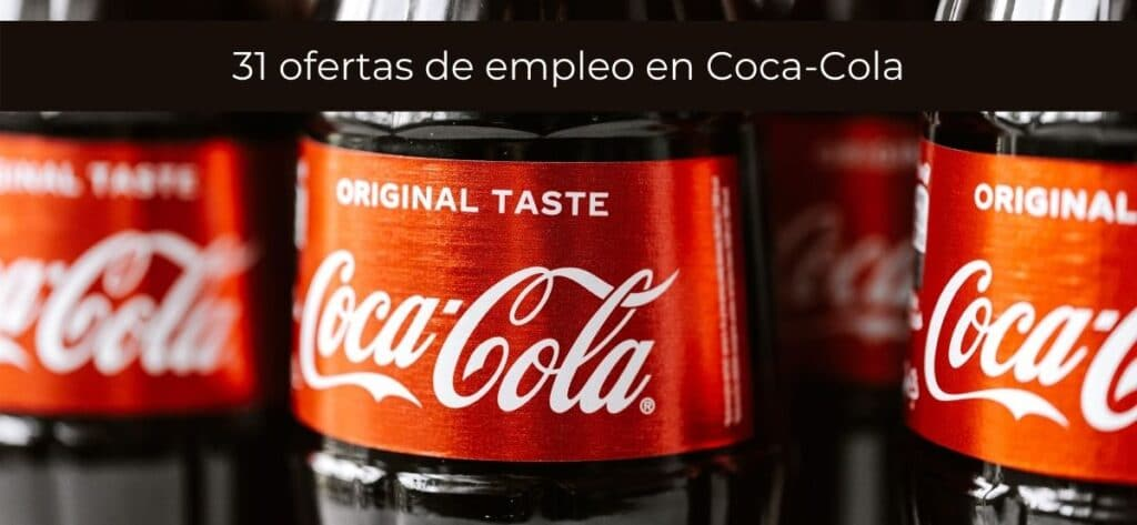 31 Ofertas De Empleo En Coca Cola