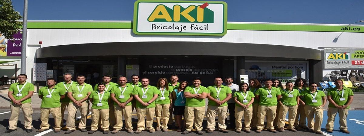 Empleo Aki Personal1 - 768 nuevos en Aki y Leroy Merlin