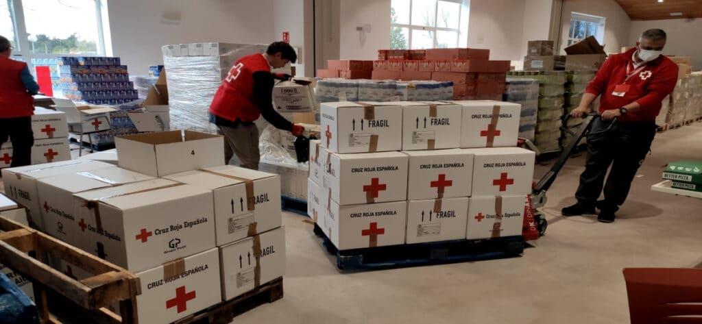 Empleo Almacenista Cruz Roja