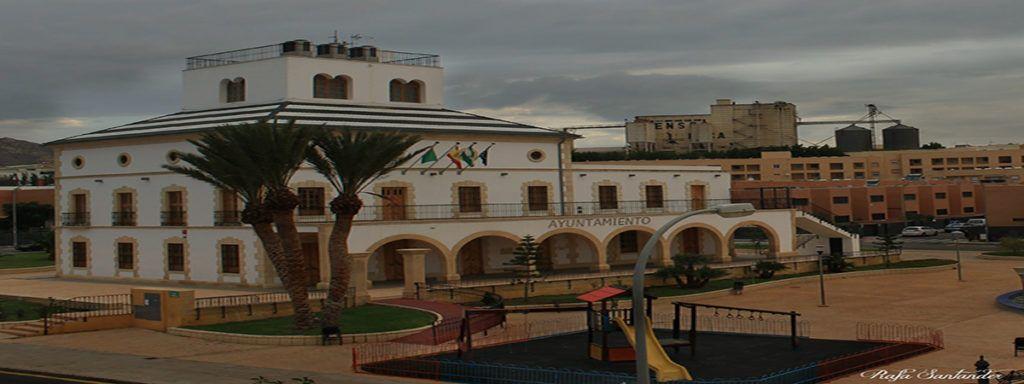 Empleo AyuntamientodeHuercaldeAlmeria fachada 1024x384 - 400 nuevos empleos se ofertarán en Ayuntamiento de Huércal de Almería