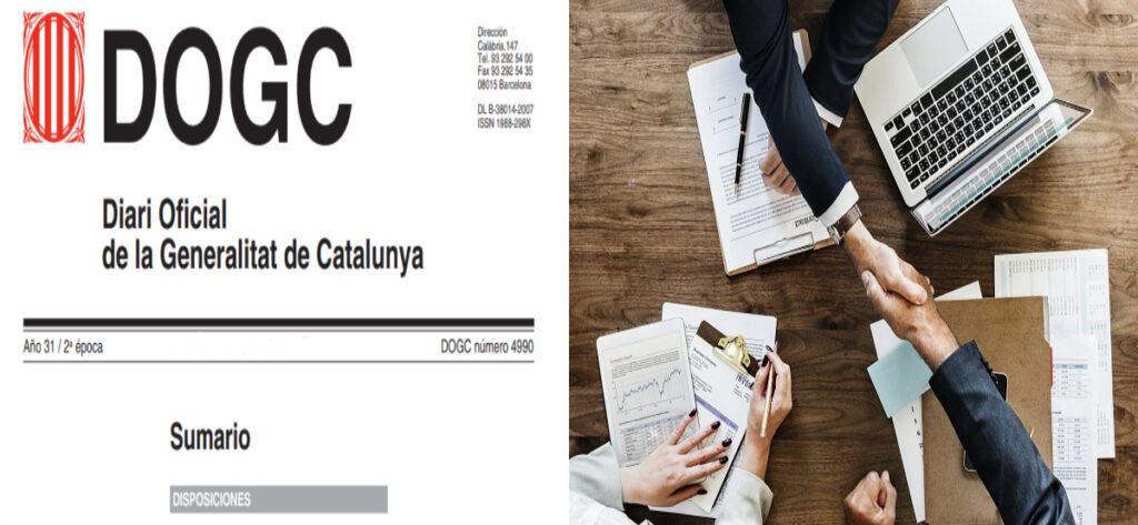 Empleo Boletin Oficial Catalunya Logo