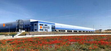 Empleo Centro Logistico Zalando Entrada