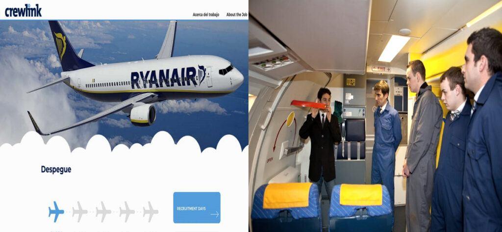 Empleo Crewlink Aerolinea Ryanair Tripulante De Cabina