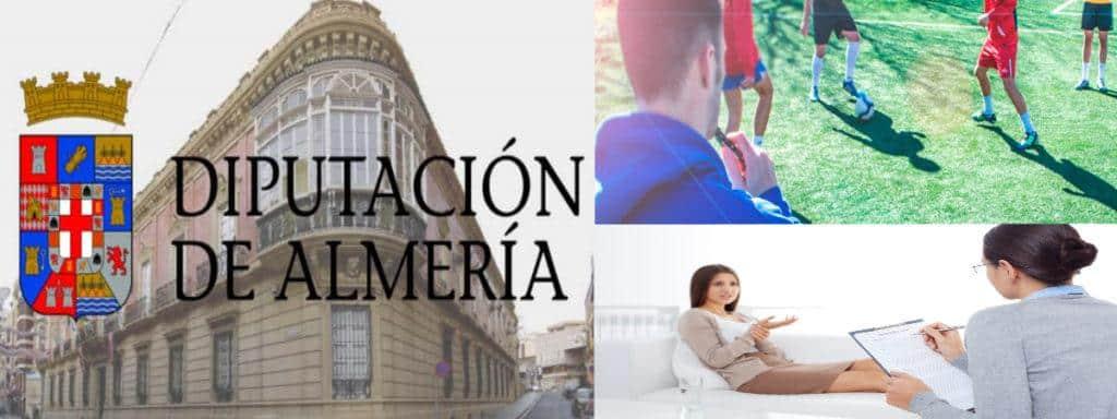 Empleo Dipitacion Almeria Tecnico Deportivo Psicologa
