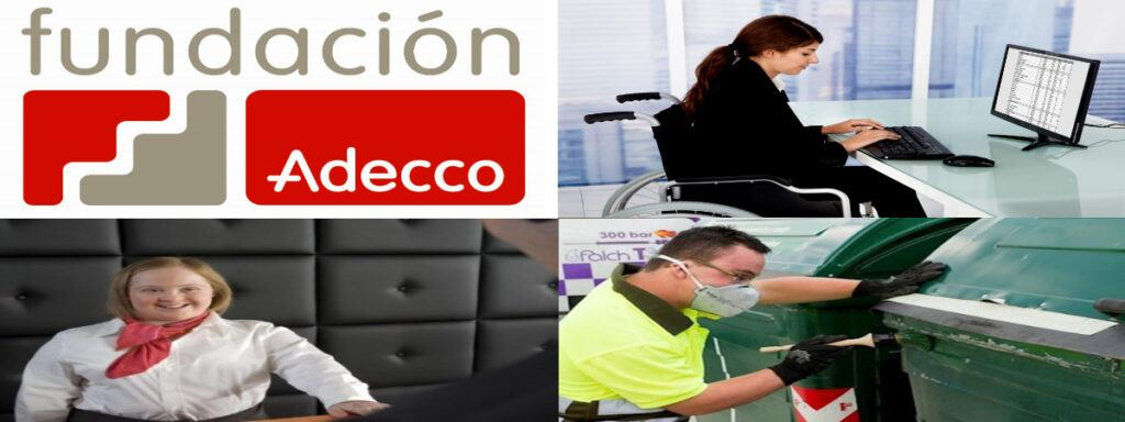 Empleo Fundacion Adecco Logo Personal Con Discapacidad3