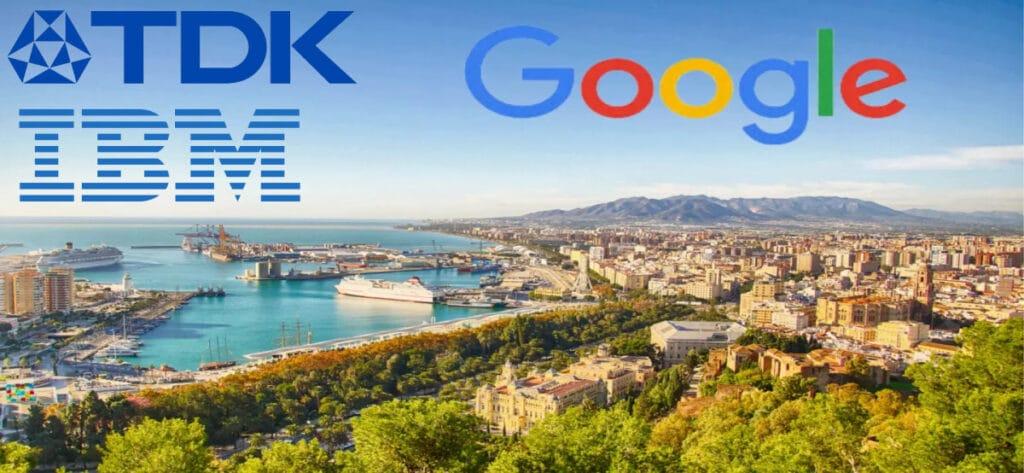 Empleo Google Tdk Ibm Logos