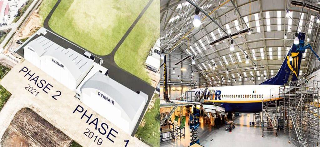 Empleo Hangar Ryanair Avion2