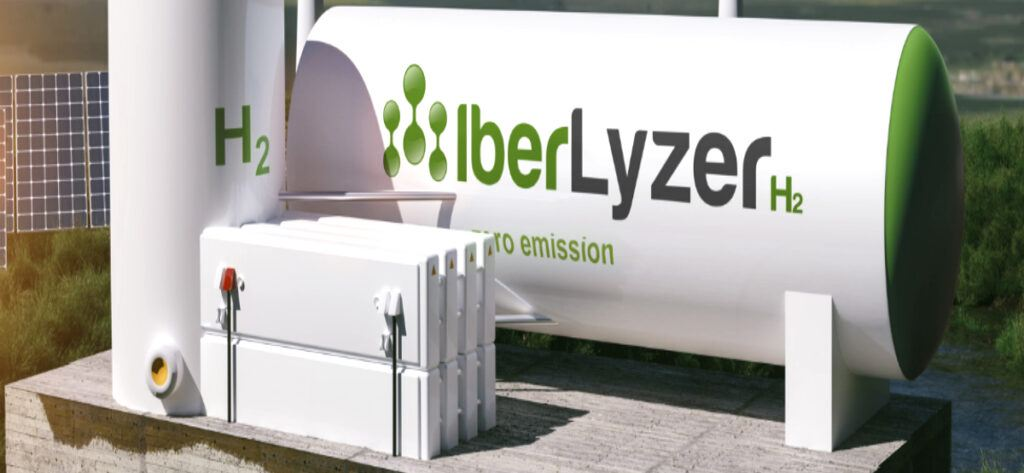 Empleo Iberlyzer Productor Electrolisis Logo