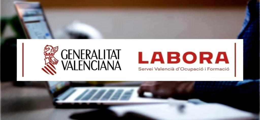Empleo Labora Generalitat Valencia Logo2