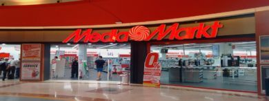 Empleo MediaMarkt Fachada 390x146 - 190 empleos en Media Markt en toda España