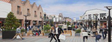 Empleo OlutletMalaga Fachada2 390x146 - Nuevo centro comercial en Málaga crea ofertas de trabajo