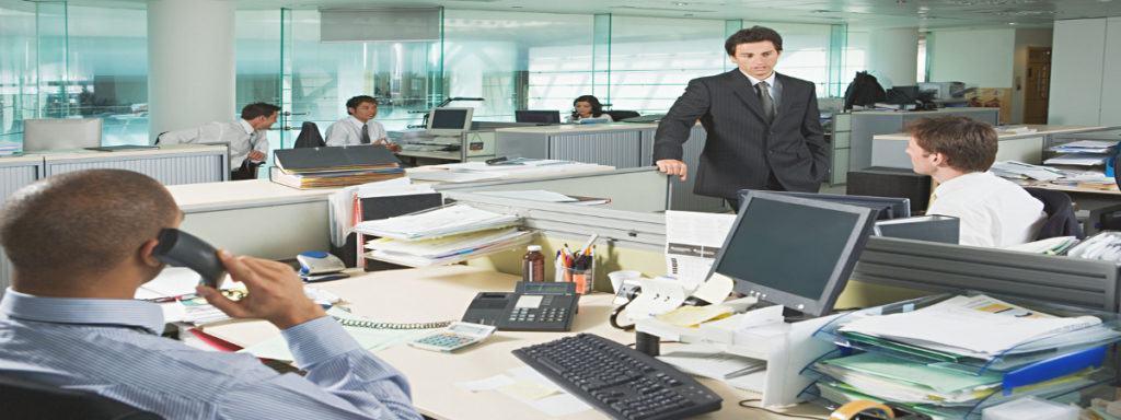Empleo Personas Trabajando Oficina3