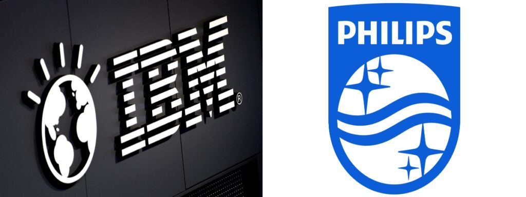 Empleo Philips Ibm Logos