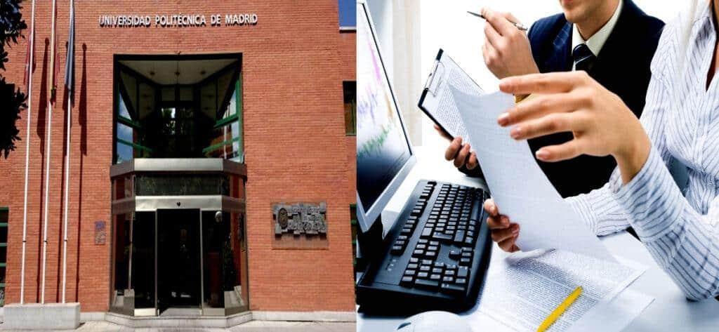 Empleo Universidad Politecnica Madrid Auxiliar Administrativo2