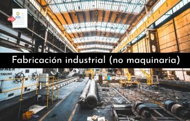 Fabricacion industrial no maquinaria - Enviar curriculum Carrefour