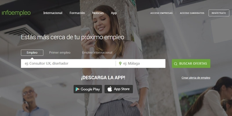 Infoempleo portal empleo