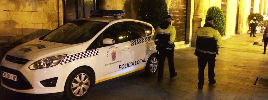 Policía trabajo