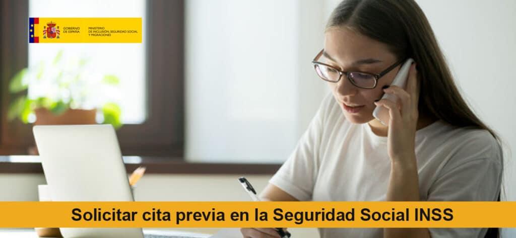 Solicitar Cita Previa En La Seguridad Social Inss