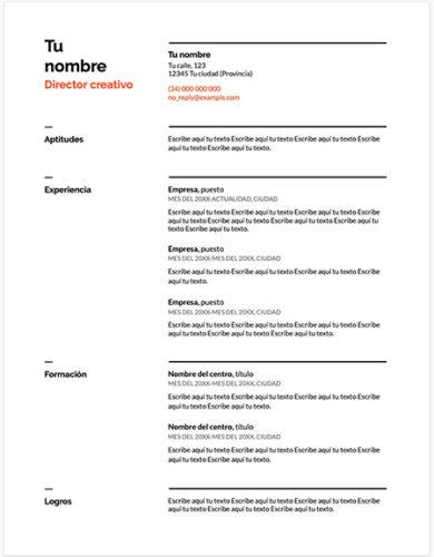 curriculum google drive 390x500 - Plantilla Curriculum Vitae Suizo