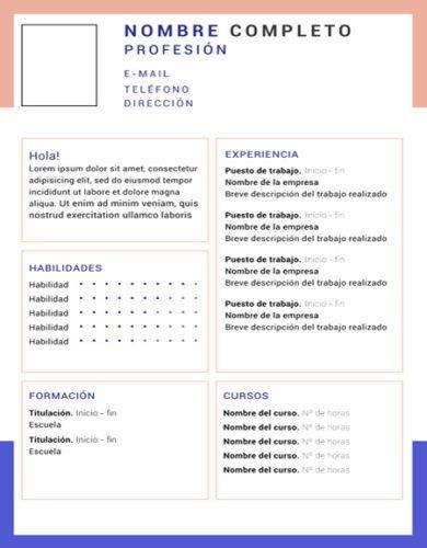 curriculum vitae marcos 390x500 - ¿Cómo hacer un Currículum Vitae?