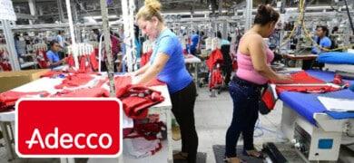 empresa textil adecco empleo