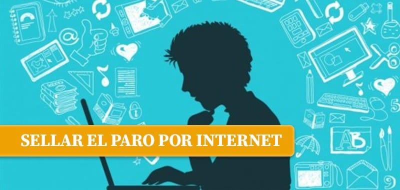 sellar paro internet - Sellar el paro por internet