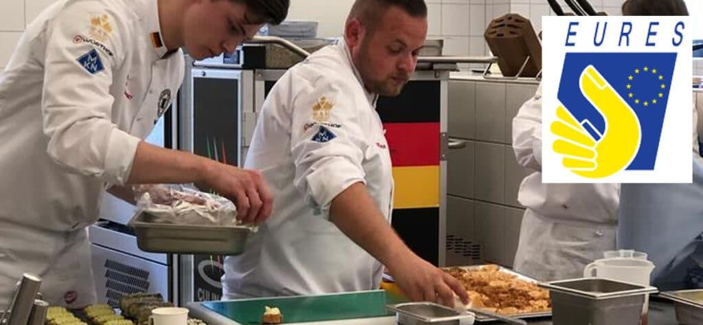 trabajar cocinero alemania eures
